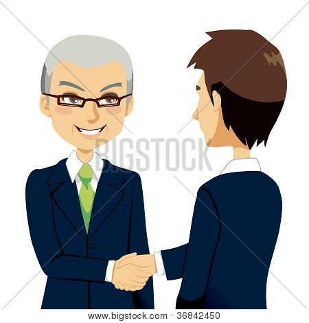 Salesman Handshake