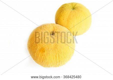 Santol Fresh Fruit Isolated On White Background