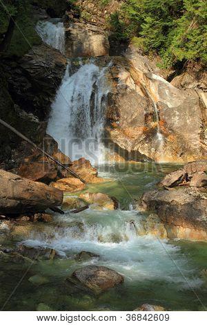 Waterfalls On Crazy Creek