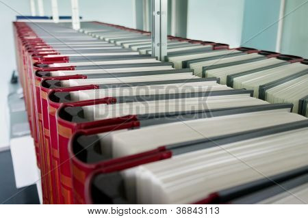 Row of Legal Books