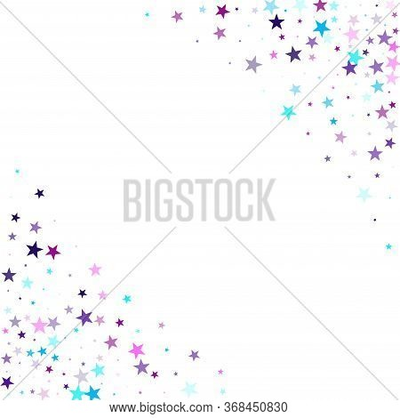 Flying Stars Confetti Vector Photo Free Trial Bigstock