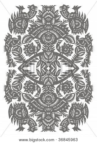 Vertical Decorative Pattern