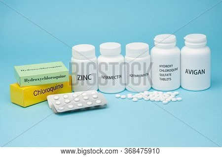 Chloroquine, Hydroxychloroquine Sulfate, Zinc, Ivermectin And Avigan. Some Of The Drugs Currently Us