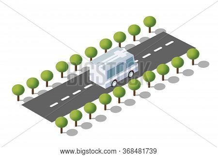 A City Boulevard Isometric City Boulevard Isometric