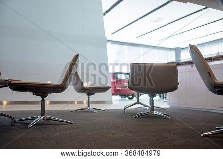 The Modern Showroom Car Sofa Chair Social Distancing