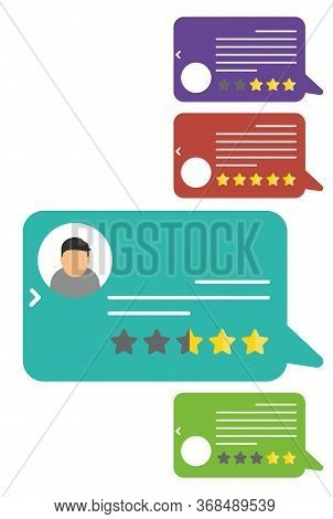 Customer Reviews. View Speech Bubble Ratings. User Reviews Flat Style. Reviews Stars With Good And B