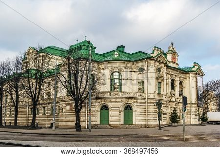 Latvian National Theatre Is One Of The Leading Professional Theatres In Latvia. The Building Is In T