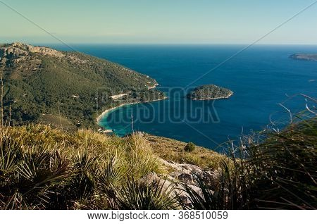 Bay Of Pollenca, Peninsula Formentor, View From Peninsula Victoria - Coastal Cliff Coast With Ocean