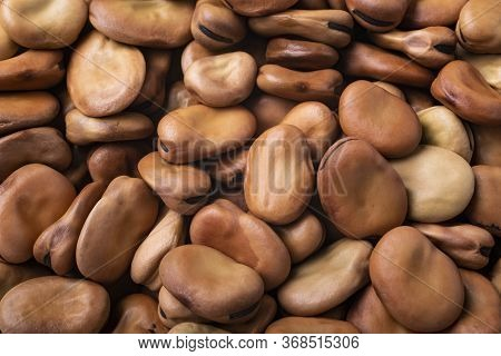 Fava Beans, Close Up, Organic, Heap, Texture, Background, Legume, Diet, Dried Legumes, Dry, Dry Food