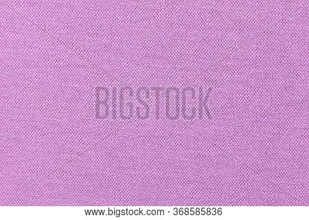 Light Violet Synthetic Fabric Texture, Background. Light Violet Fabric. Light Violet Background.