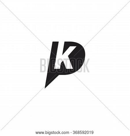 Pk P K Logo Vector And Symbol And Abstract