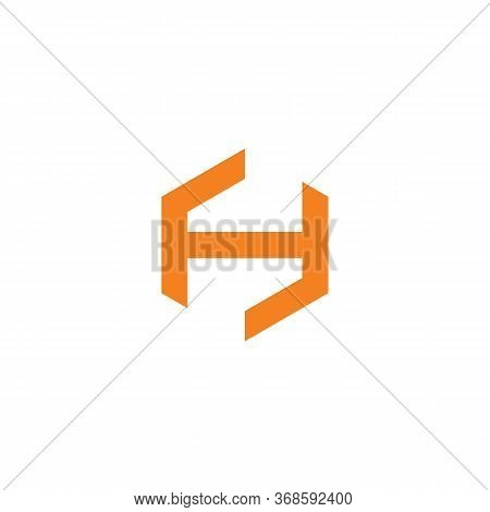 H Logo Vector And Abstract,unusual, Vector, Web