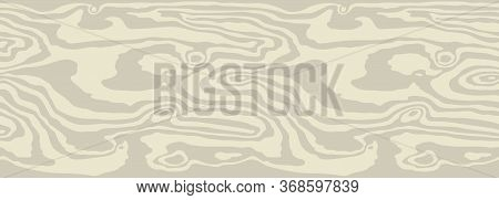 Light Beige Wood Texture Background. Empty Natural Pattern Swatch Template. Realistic Plank. Wooden
