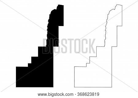 Gem County, Idaho (u.s. County, United States Of America, Usa, U.s., Us) Map Vector Illustration, Sc