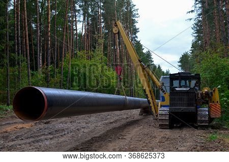Onstructing Pipelines That Transport Oil, Gas, Petroleum Products And Industrial Gases. Dug Trench I
