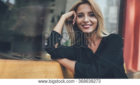 Young Attractive Caucasian Women With Blond Hair