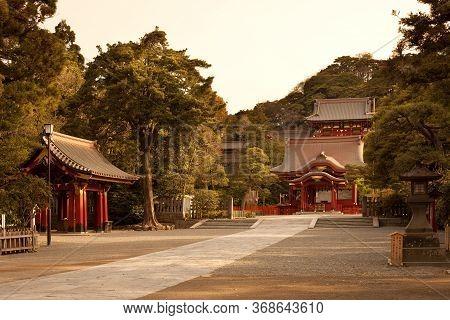 Kamakura, Kanagawa Prefecture, Greater Tokyo Area, Japan - April 13, 2010: The Traditional Architect