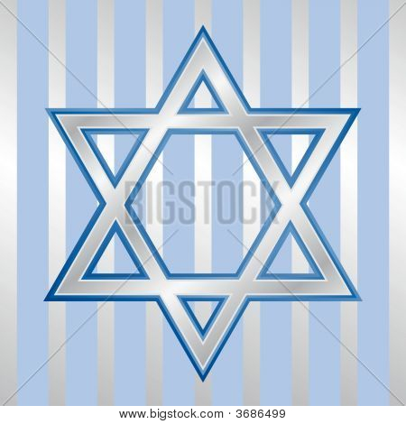 Star Of David For Hanukkah