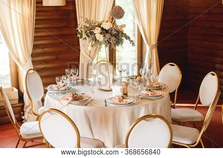 Wedding Seating Plane With Decorated Tables With Number