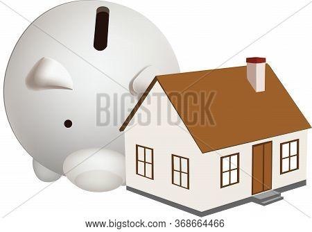 Dwelling With Next Door Piggy Bank Dwelling With Next Door Piggy Bank