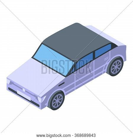Excursion City Car Icon. Isometric Of Excursion City Car Vector Icon For Web Design Isolated On Whit