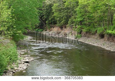 Huntington Creek Near Forks In Fishing Creek Township, In Pennsylvania.