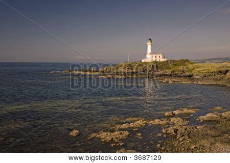 Lighthouse In Evening Light
