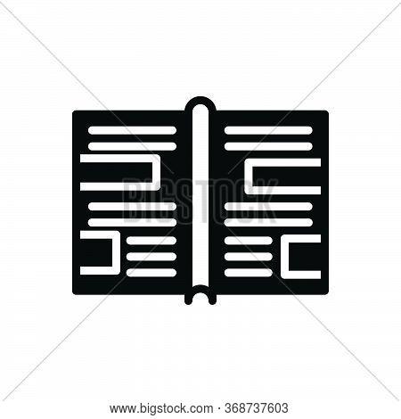 Black Solid Icon For Leaflet-promo Leaflet Promo Template Flyer Brochure Newsletter Banner Layout Co