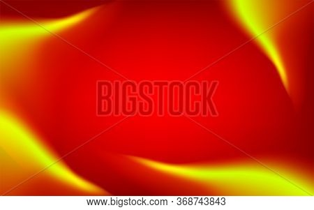 Banner Flame Fire Red For Hot Sale Advertising Background, Red Background With Gradient Colorful, Re