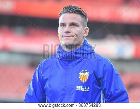 London, England - May 2, 2019: Kevin Gameiro Of Valencia Pictured Ahead Of The First Leg Of The 2018