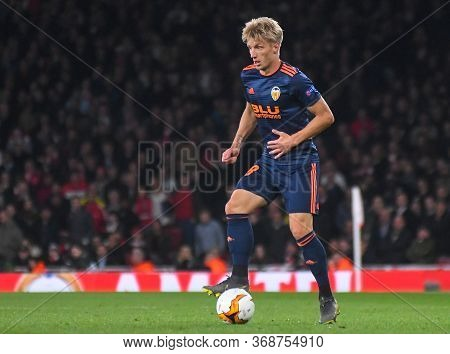 London, England - May 2, 2019: Daniel Wass Of Valencia Pictured During The First Leg Of The 2018/19