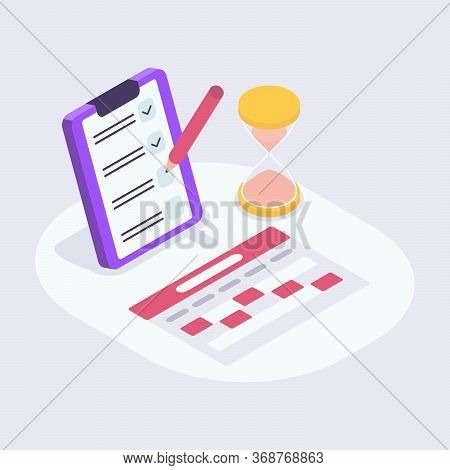 Calender Check List Perfect For Reminder Notes Organize Appointment