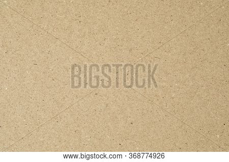 Cardboard Paper Texture For Background. Cardboard Sheet.