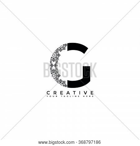 This Is The Design Of The Letter G Logo With The Initial Logo Style. This Logo Is Suitable For Compa