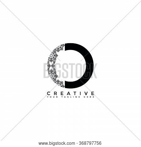 This Is The Design Of The Letter O Logo With The Initial Logo Style. This Logo Is Suitable For Compa