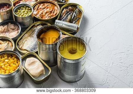 Tin Cans For Processed Food Cans Conserve Saury, Mackerel, Sprats, Sardines, Pilchard, Squid, Tuna P