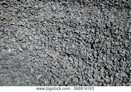 Gravel Texture Or Gravel Background For Design. Small Gravel Texture Or Gravel Background. Real Grun