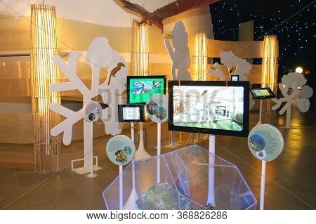 Taguig, Ph - Apr 19 - Mind Museum Wildlife Hall On April 19, 2012 In Bonifacio Global City, Taguig,