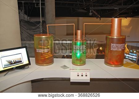 Taguig, Ph - Apr 19 - Mind Museum Fermentation Process Display On April 19, 2012 In Bonifacio Global
