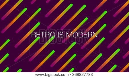 Funky Neon Blend Vector Background. Iridescent Noble Vector Color Overlay. Trendy Colorful Vibrant H