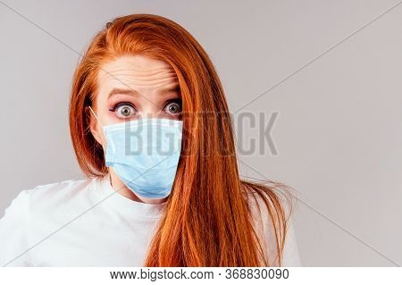 Redhair Ginger Woman Feeling Unhappy Love Or Beak Up With Boyfriend Concept