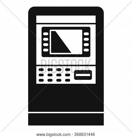 Customer Atm Icon. Simple Illustration Of Customer Atm Vector Icon For Web Design Isolated On White