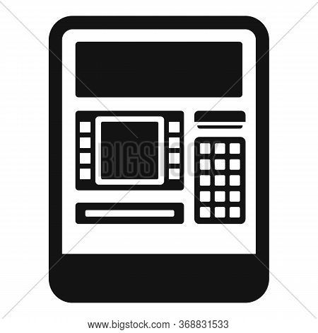 Insert Atm Card Icon. Simple Illustration Of Insert Atm Card Vector Icon For Web Design Isolated On