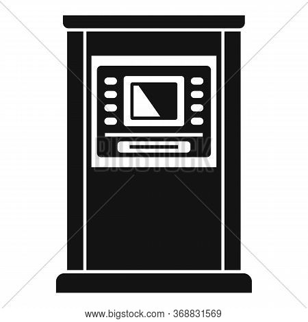 Atm Monitor Screen Icon. Simple Illustration Of Atm Monitor Screen Vector Icon For Web Design Isolat