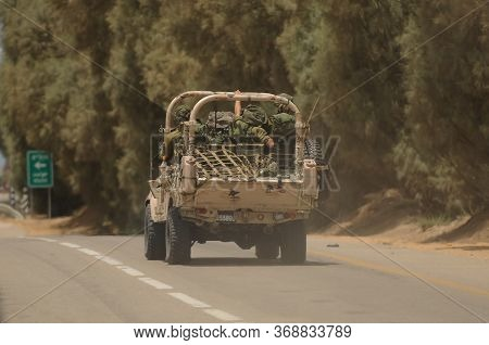 Spacial Forces Personal Vehicle Heading To Gaza Strip