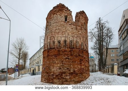 Remains Of The Tower Of The Monastery Wall