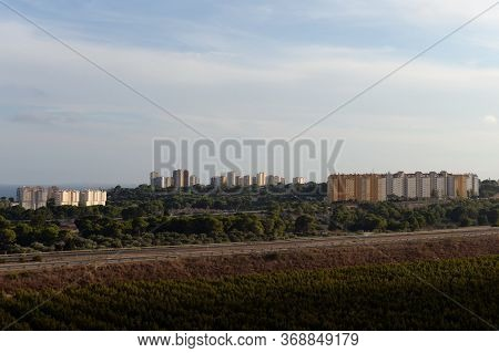 Orihuela, Costa Blanca, Spain - September 19, 2018:coast Of The Costa Blanca In Orihuela Costa. Spai