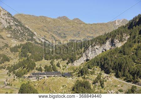 Llanos del hospital, Huesca/Spain; Aug. 21, 2017. Place called Llanos del Hospital belonging to the