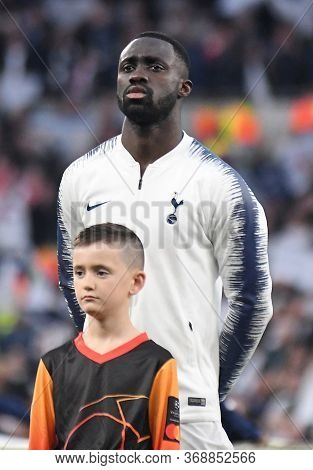 London, England - April 30, 2019: Davinson Sanchez Of Tottenham Pictured Prior To He First Leg Of Th
