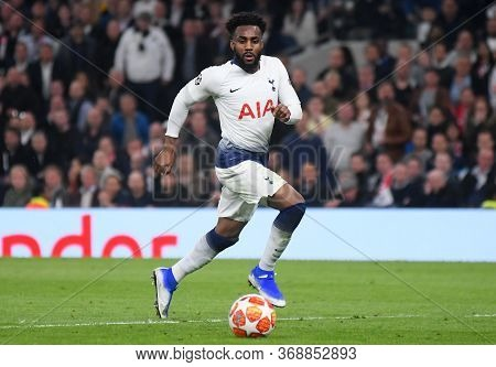 London, England - April 30, 2019: Danny Rose Of Tottenham Pictured During The First Leg Of The 2018/